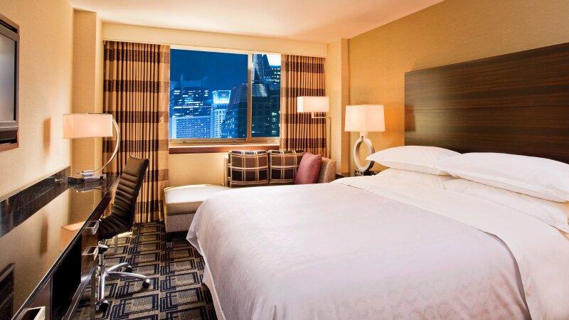 Dormitorio del hotel Sheraton Times Square