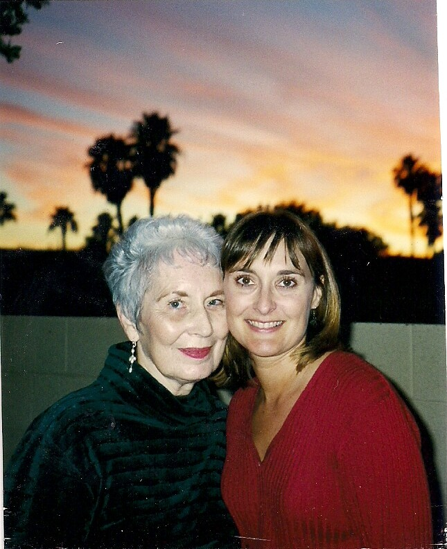 April 1997 Patricia and Amy Goyer