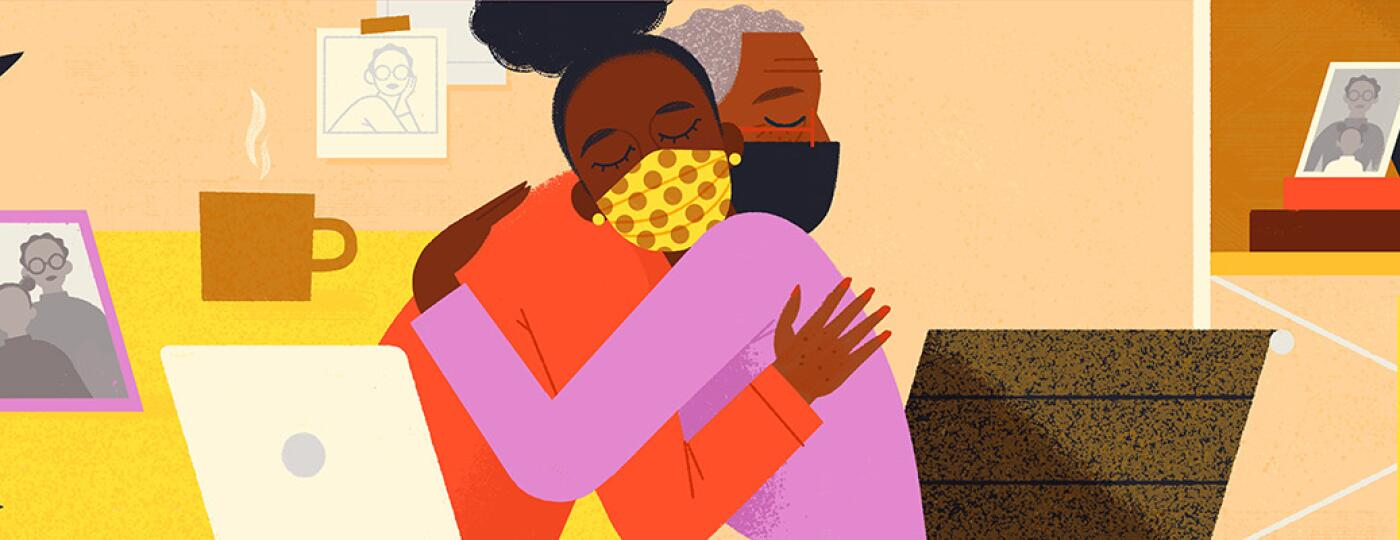 illustration_of_lady_giving_a_virtual_hug_to_another_by_lady_loris_lora_1440x400