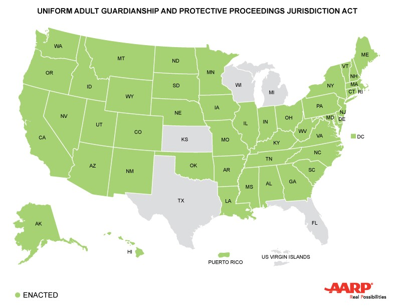 Caregiving Across State Lines, 45+ States Pass Law to Help
