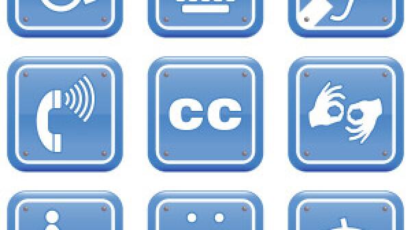 Disability Icon Set