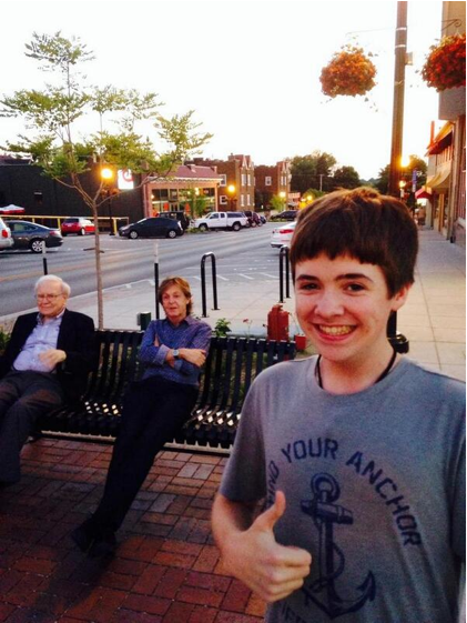 Tom White Selfie Paul McCartney Warren Buffett