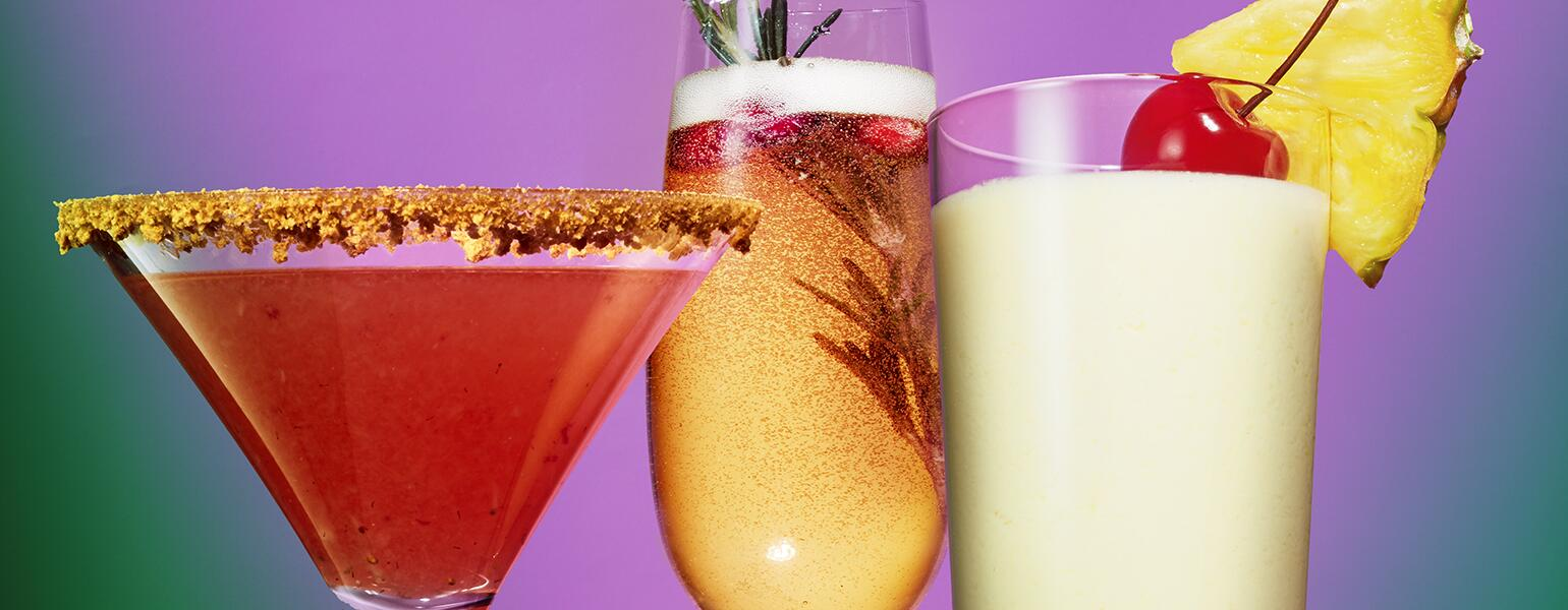3 holiday cocktails