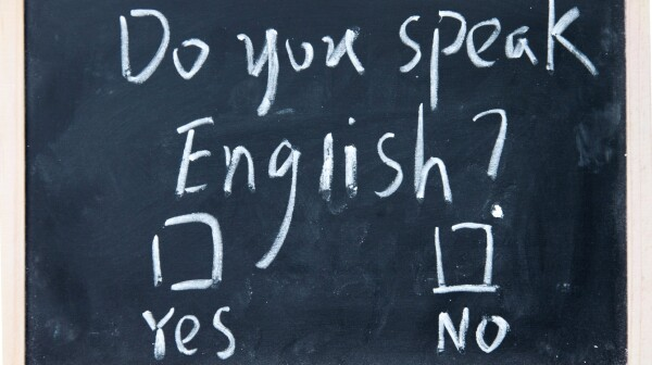 Do you speak english test