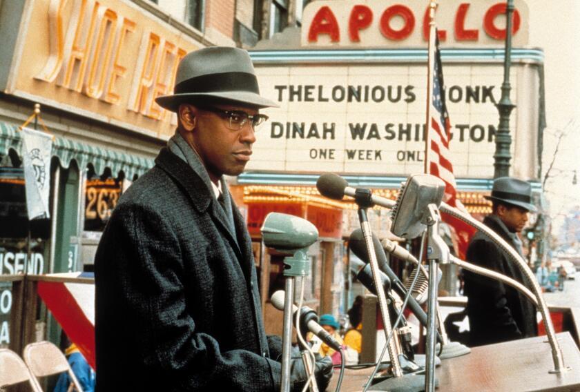 MALCOLM X / Malcolm X USA 1992 / Spike Lee Malcolm X (DENZEL WASHINGTON) Regie: Spike Lee aka. Malcolm X. Image shot 2008. Exact date unknown.