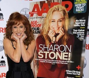 Kathy Griffin w cover