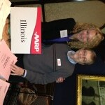 NOF event with aarp Illinois rep