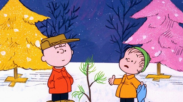 Peanuts - Charlie Brown and Linus