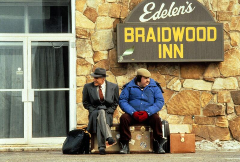 Planes, Trains and Automobiles staring John Candy and Steve Martin