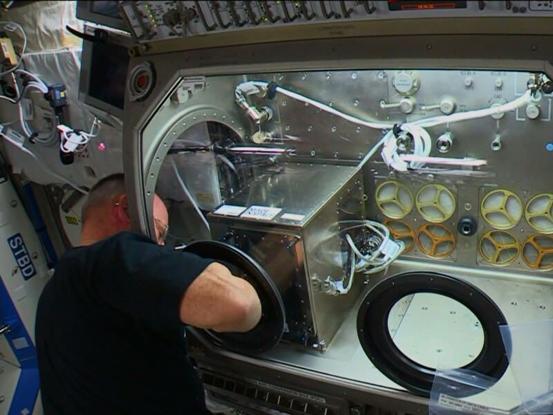 Installing 3D Printer on International Space Station