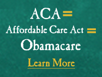 ACA = Affordable Care Act = Obamacare