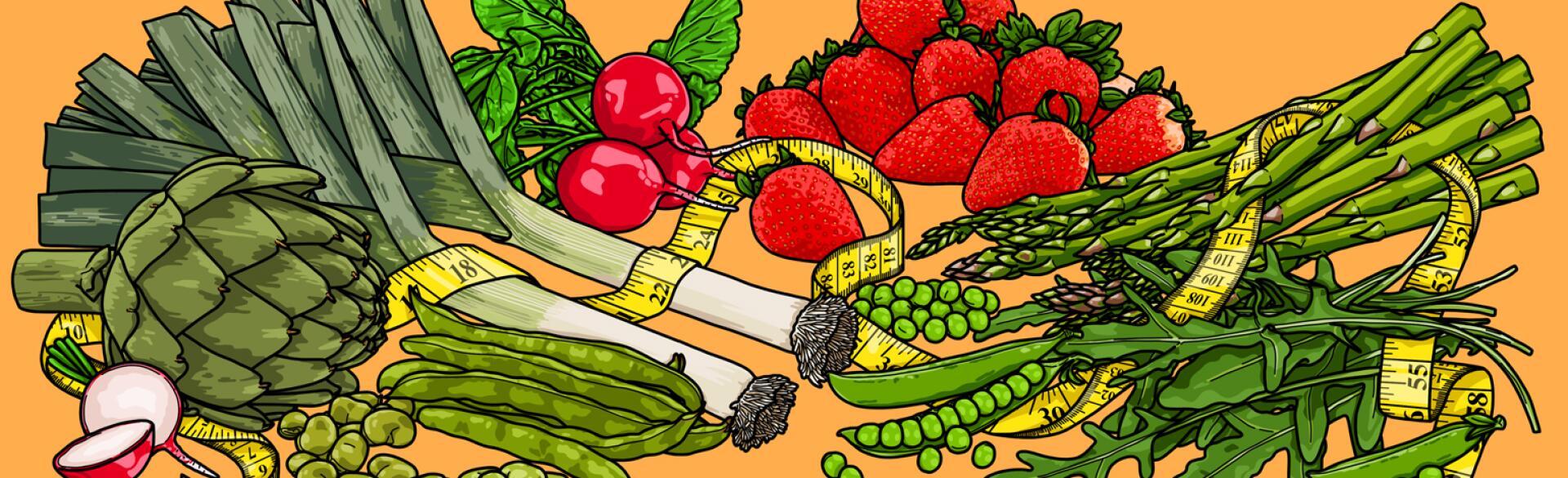 Superfoods, vegetables, fruit, health, aarp, sisters