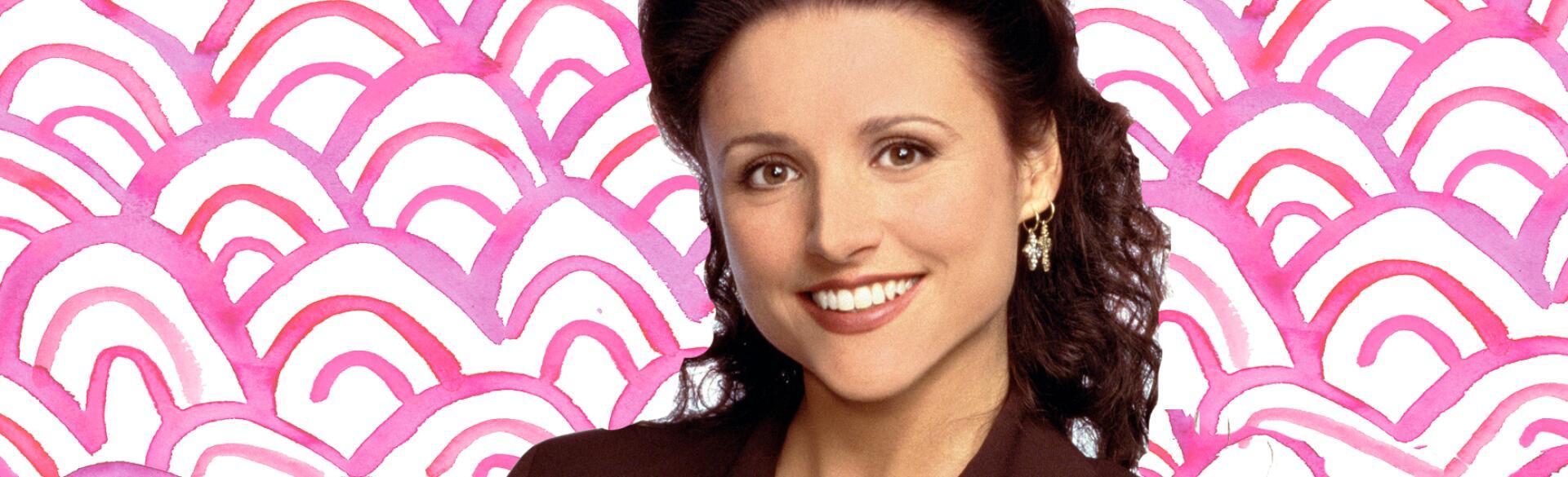 SEINFELD, Julia Louis-Dreyfus, Season 7. 1990 - 1998. (c) Columbia TriStar Television/ Courtesy: Eve
