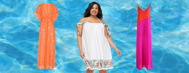 Swim Coverups, beach, pool, aarp, sisters