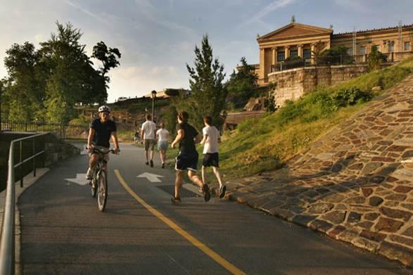 Schuylkill Banks Art Museum Bicycle Coalition of Greater Philadelphia
