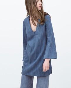 Zara Bell Sleeve Tunic