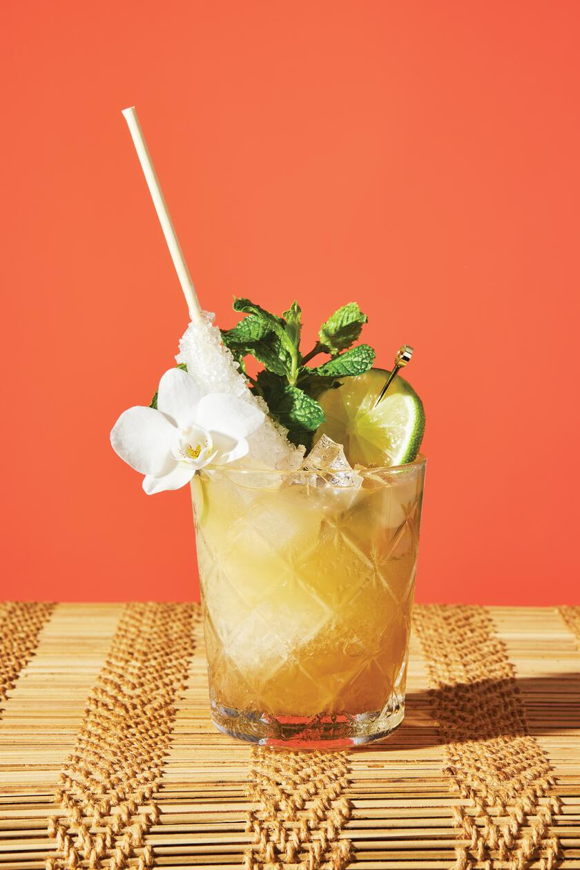 Tropical Cocktails For Your Backyard - Navy Grog