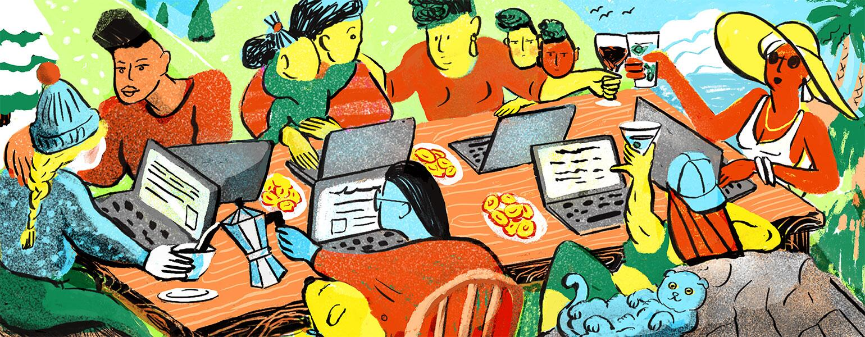 Online Friendships, aarp, girlfriend, parenting