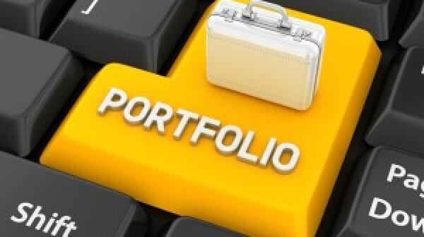 Portfolio key on keyboard