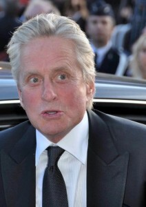 Michael Douglas at Cannes in 2010