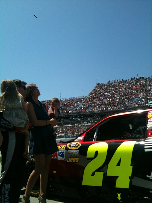 Jeff Gordon in Talladega