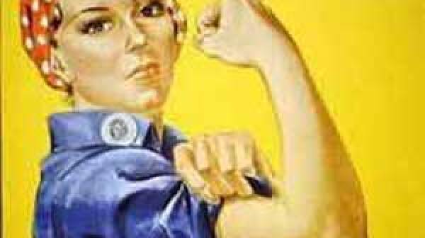 Rosie the Riveter Poster designed by J. Howard Miller