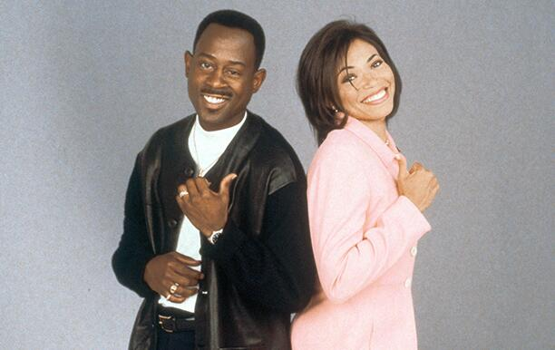 MARTIN, Martin Lawrence, Tisha Campbell, 1992-97, © Warner Bros/Courtesy: Everett Collection