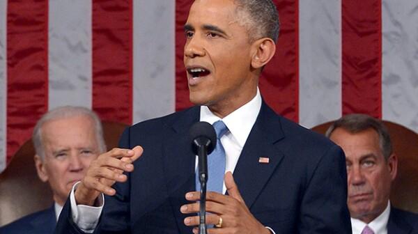 President Barack Obama at 2015 SOTU