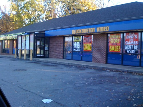 Blockbuster Video Closing