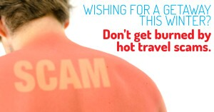 Don't get burned by holiday scams