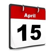 Tax Deadline on April 15