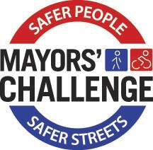 Logo for Mayors' Challenge for Safer People, Safer Streets