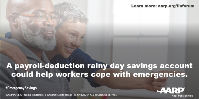 Payroll-deduction emergency savings program