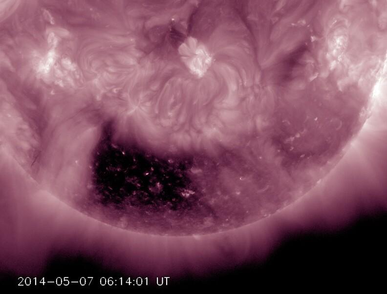 Sun's Coronal Hole