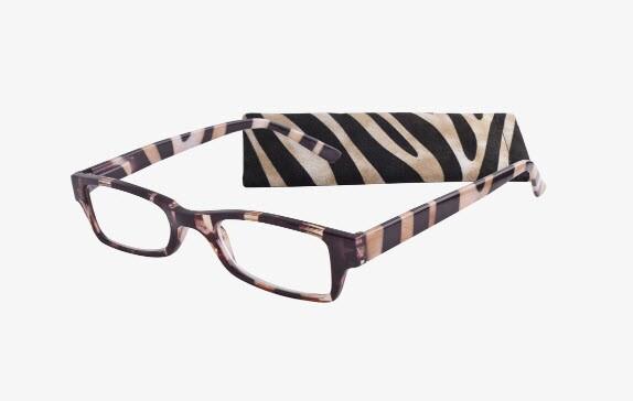 ICU Eyewear (7237 Zebra)_Round Shape Face-1