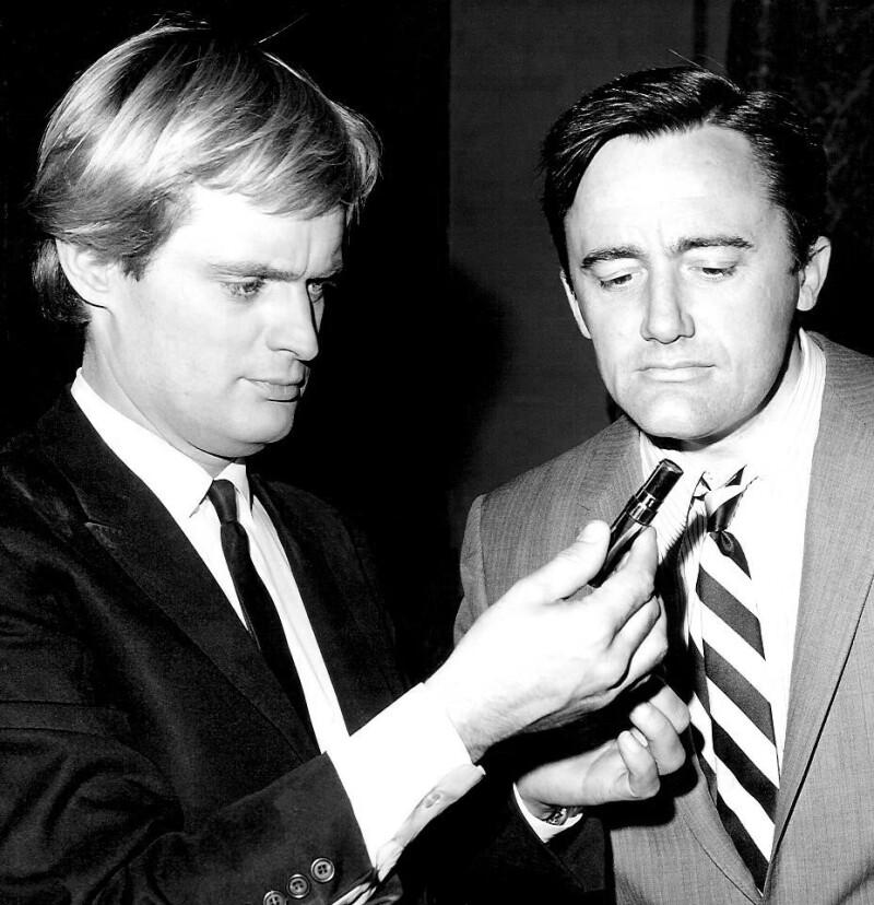 David McCallum and Robert Vaughn Man From Uncle 1967