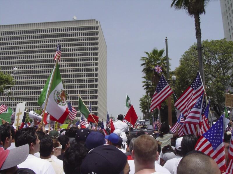 latino rally california