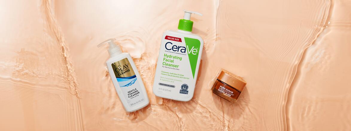 3 of the best face washes for maturing skin