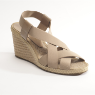 Vince Camuto straw wedge sandals
