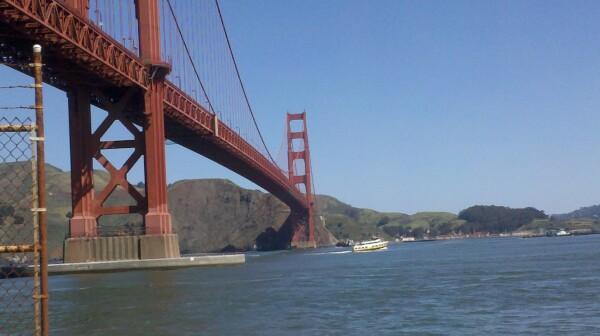 Bill Carter - Golden Gate Bridge 4-26-11