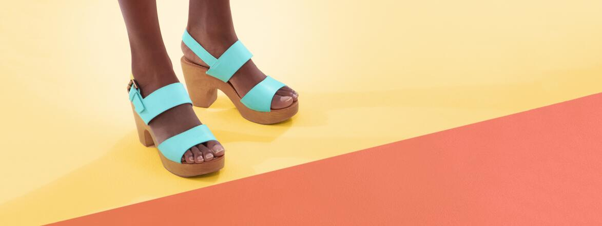 colorful shoes for summer