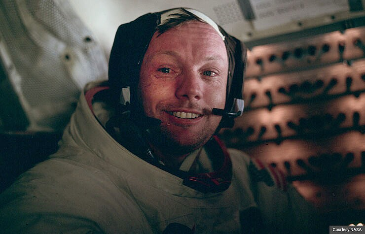 Astronaut Neil Armstrong
