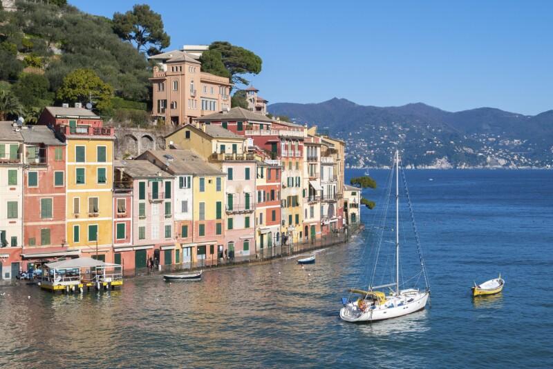 Promenade of Portofino