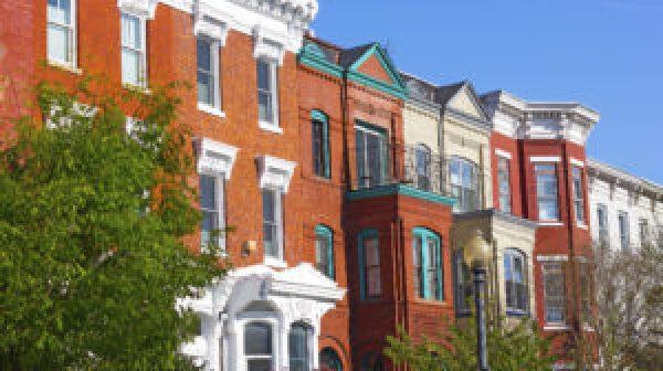 Shaw neighborhood in Washington DC