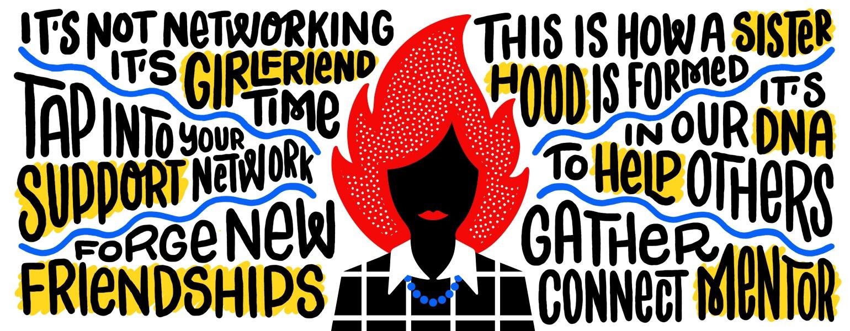 Blazing Women, sisterhood, girlfriend, aarp, networking