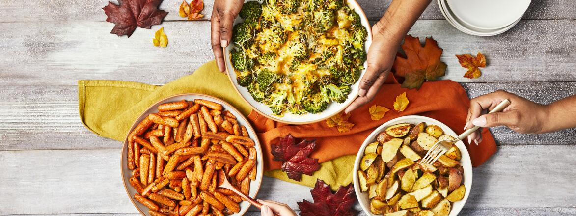 Image of fall dishes