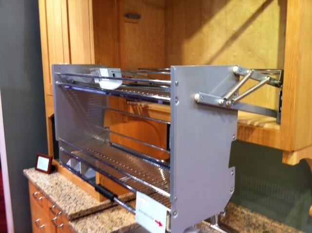 movable shelf cabinet 1