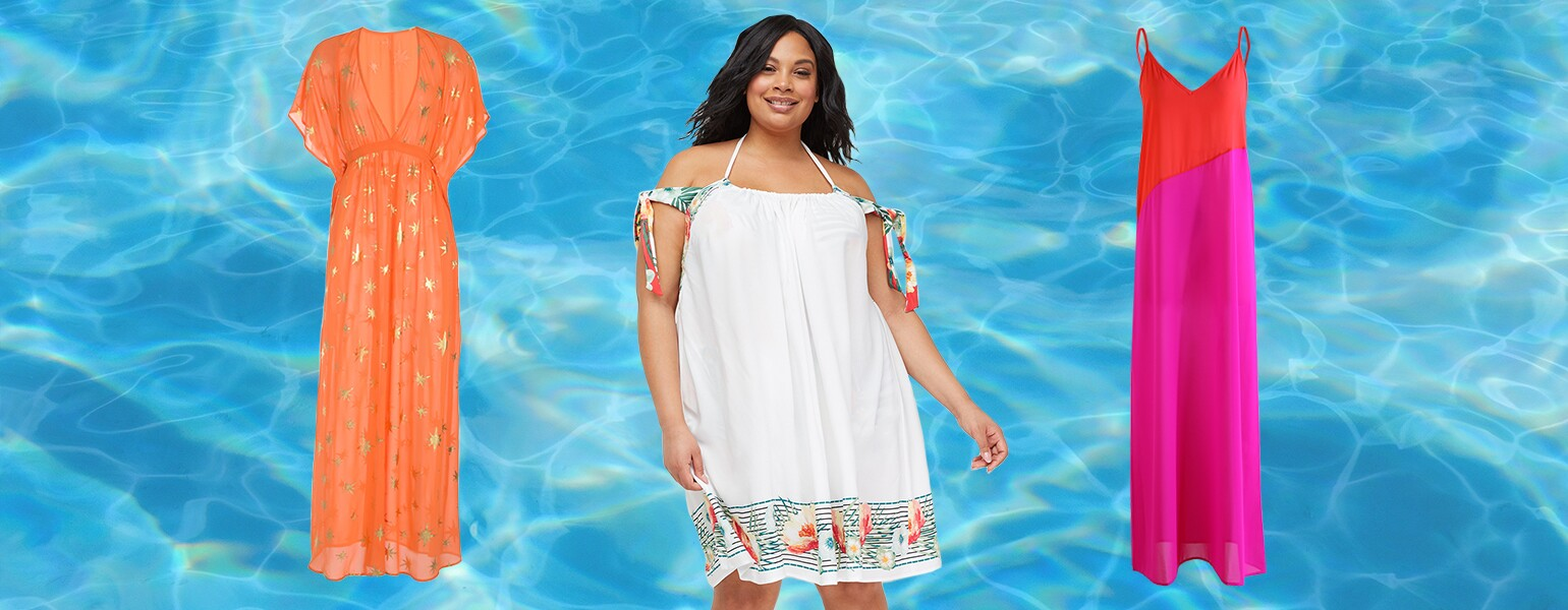 Swim Coverups, beach, pool, aarp, sisters