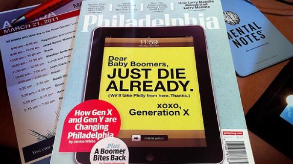 Philadelphia Magazine March 2011 Cover