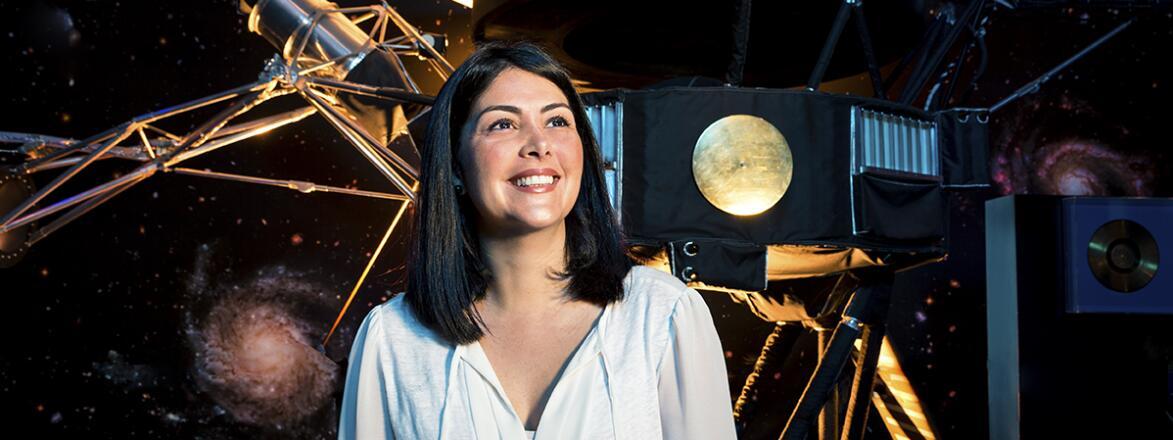 An image of NASA engineer Diana Trujillo.